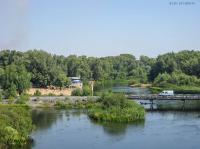 Нижний мост через реку Урал (Малый мост). 2009 год
