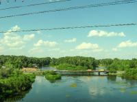 Нижний мост через реку Урал (Малый мост). 2008 год