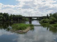 Мост через Урал соединяющий Европу с Азией