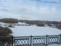 Верхний мост через реку Урал (Большой мост). 2008 год
