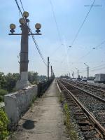 Верхний мост через реку Урал (Большой мост). 2009 год