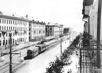 Проспект Ленина. 1957 г.