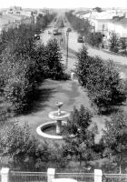 Улица Строителей. 1950-е годы