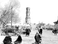 Площадь старого города. 1950-е годы