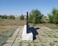 Памятник воинам-односельчанам, погибшим на фронтах Великой Отечественной войны 1941–1945 гг. г. Орск, с. Тукай