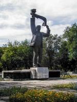 Скульптура «Машиностроитель»