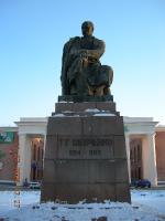Памятник Т.Г. Шевченко. 2006 год