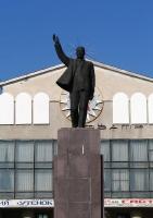 Памятник В.И. Ленину на Комсомольской площади