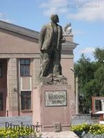 Памятник В.И. Ленину на площади Гагарина. 2009 год