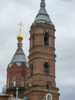 Колокольня церкви Преображения. 2009 год