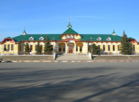 Здание вокзала станции Орск. 2006 год