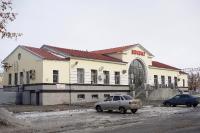 Здание вокзала станции Никель