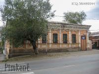 Памятное место размещения уездного комитета комсомола (ул. Карла Маркса, 14). 2009 год