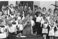 Школа № 1 имени А.С. Макаренко. 1973 год