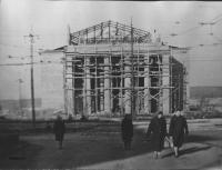 Строительство Орского драматического театра