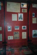 Стенд в Орском краеведческом музее посвященный Синчуку (фотография Раковского Сергея)