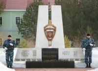 Памятник воинам МВД (ОМОН)