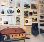 Часть экспозиции в Орском краеведческом музее посвященной жизни Шевченко в Орске