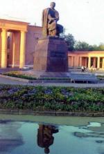 Памятник Тарасу Григорьевичу Шевченко в Орске
