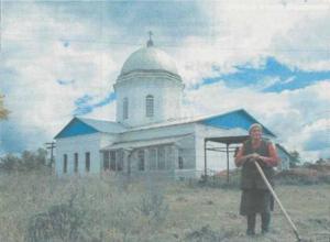 Церковь в селе Державино