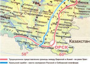 Вискова Галина Урал не является границей между Европой и Азией