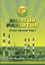 70 лет Орской ТЭЦ-1. Энергия развития