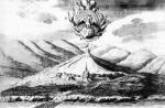 Крепость в устье Ори. Фоторепродукция рисунка 1736 года